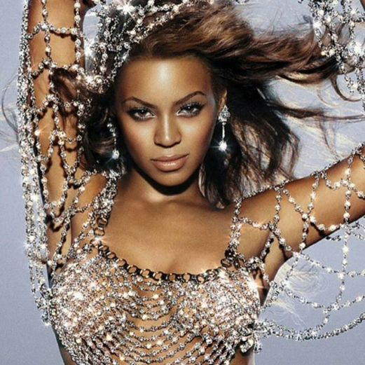 Beyonce for Crazy in Love album 2003