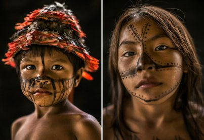 Manduruku portraits via Al Jazeera America